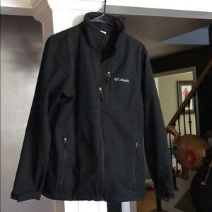 Men's Columbia black medium coat